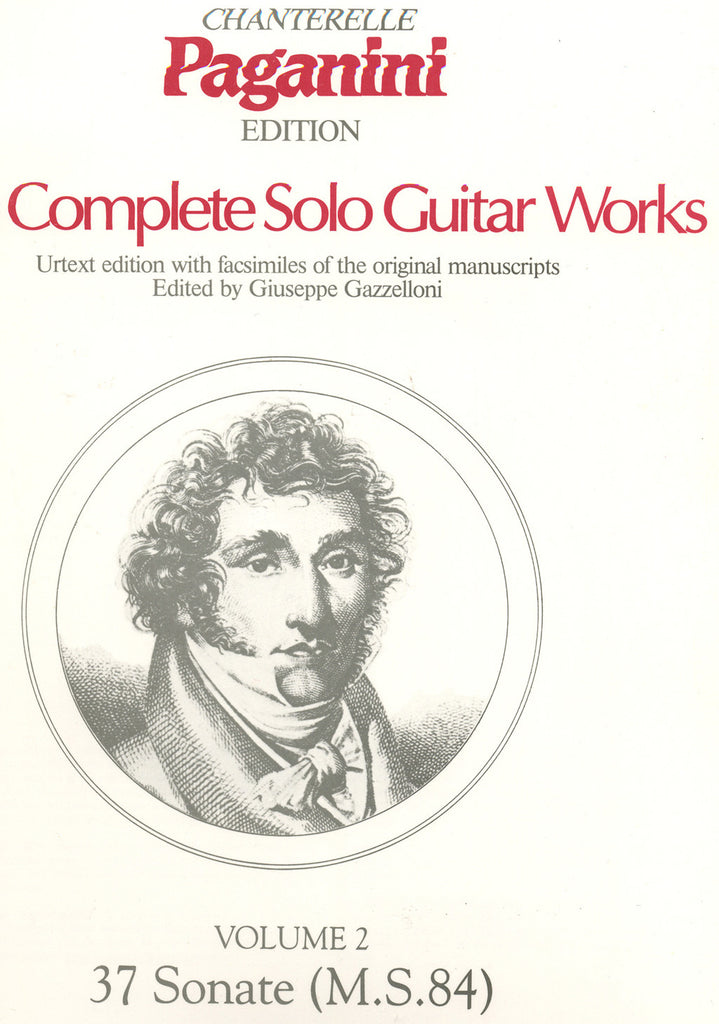 Image of Niccolo Paganini, The Complete Solo Guitar Works vol.2, Music Book