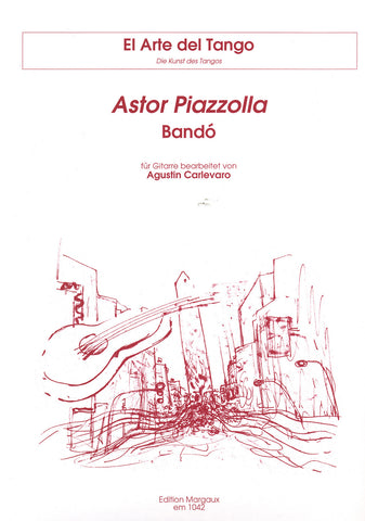 Image of Astor Piazzolla, Bandó, Music Book