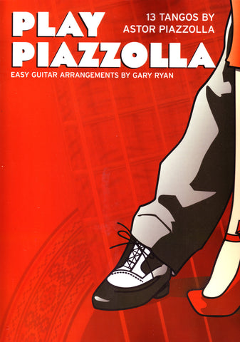 Image of Astor Piazzolla, Play Piazzolla (ed. Gary Ryan), Music Book