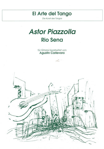 Image of Astor Piazzolla, Rio Sena, Music Book
