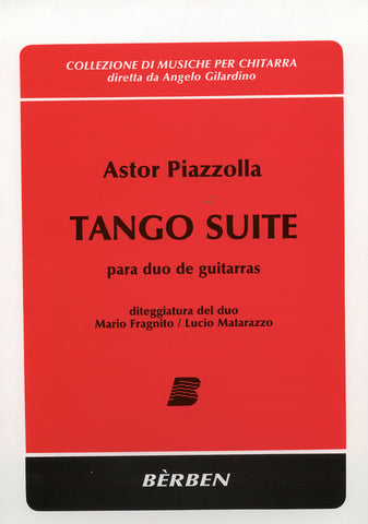 Image of Astor Piazzolla, Tango Suite (for two guitars), Music Book
