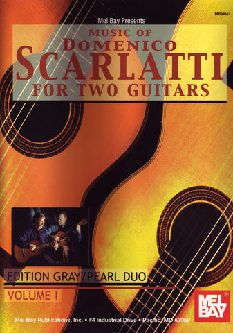 Image of Domenico Scarlatti, Music of Domenico Scarlatti for two guitars (ed. Gray/Pearl duo), Music Book