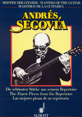 Image of Andres Segovia (ed.), The Finest Pieces from his Repertoire, Music Book