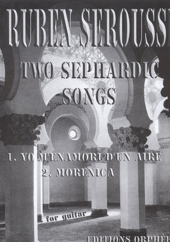 Image of Ruben Seroussi, Two Sephardic Songs, Music Book