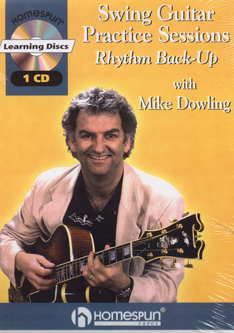 Image of Mike Dowling, Swing Guitar Practice Sessions, Music Book & CD