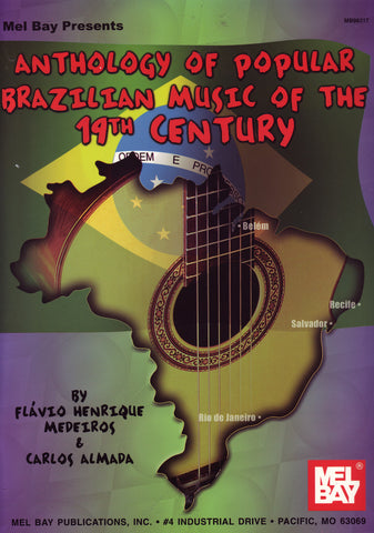 Image of Flavio Henrique Medeiros & Carlos Almada, Anthology of Popular Brazilian Music of the 19th Century, Music Book