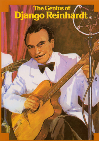 Image of Django Reinhardt, The Genius of Django Reinhardt, Music Book