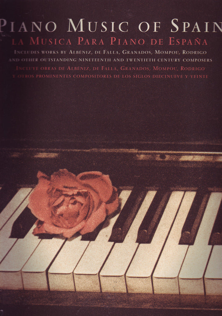 Image of Various Composers, Piano Music of Spain: Rose edition, Music Book