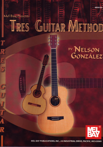 Image of Nelson Gonzalez, Tres Guitar Method, Music Book