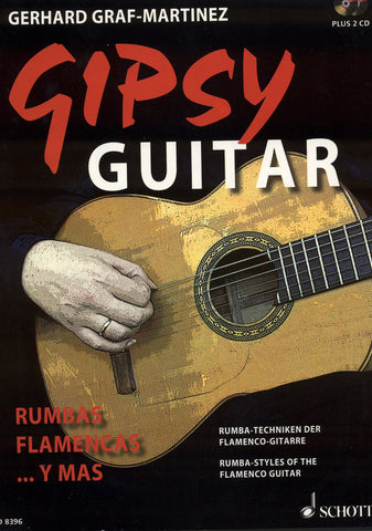 Image of Gerhard Graf-Martinez, Gipsy Guitar: Rumbas Flamencas... Y Mas, Music Book & 2 CDs