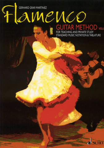 Image of Gerhard Graf-Martinez, Flamenco Guitar Method vol.1, Music Book & CD