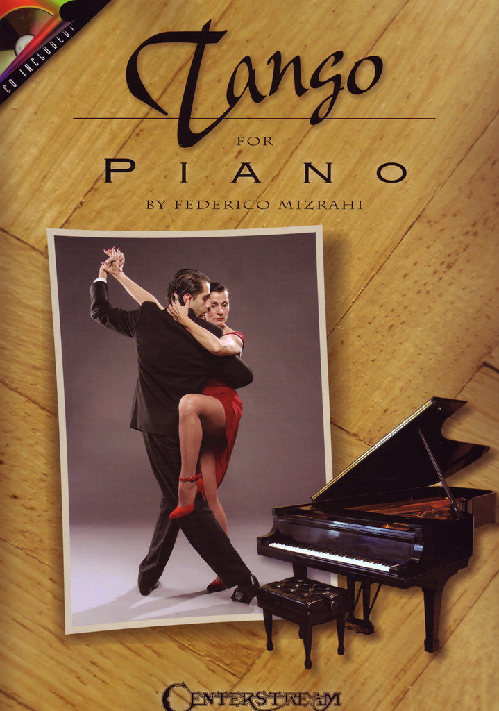 Image of Jorge Polanuer & Federico Mizrahi, Tango for Piano, Music Book & CD