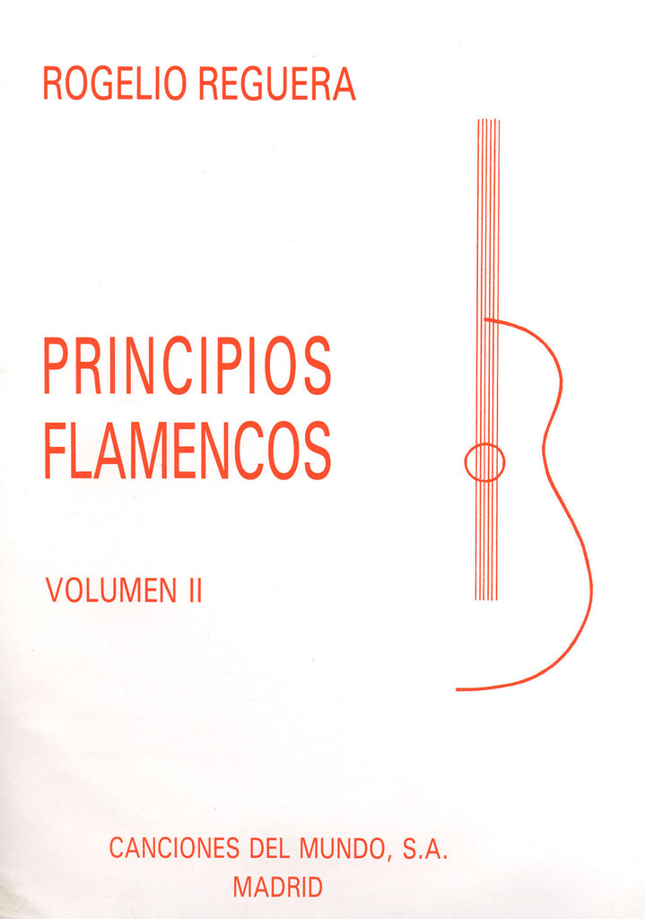 Image of Rogelio Reguera, Principios Flamencos vol.2, Music Book