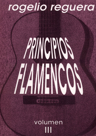 Image of Rogelio Reguera, Principios Flamencos vol.3, Music Book