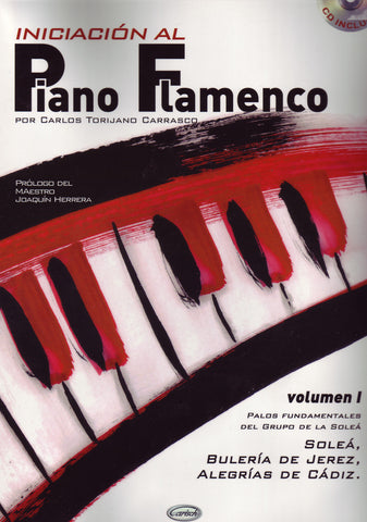 Image of Carlos Torijana Carrasco, Iniciacion al Piano Flamenco vol.1, Music Book & CD
