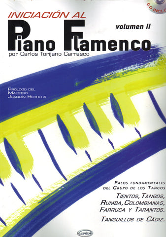 Image of Carlos Torijana Carrasco, Iniciacion al Piano Flamenco vol.2, Music Book & CD
