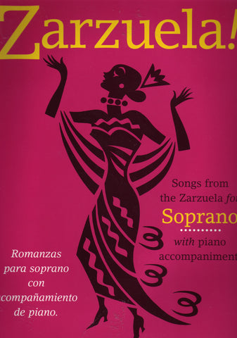 Image of Various Composers, Zarzuela (for Soprano), Music Book