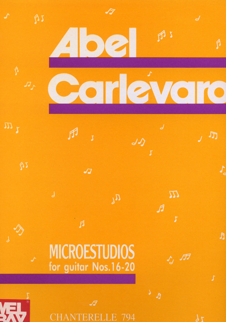Image of Abel Carlevaro, Microestudios for Guitar III (nos.16-20), Printed Music