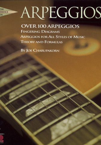 Image of Joe Charupakorn, Arpeggios, Music Book