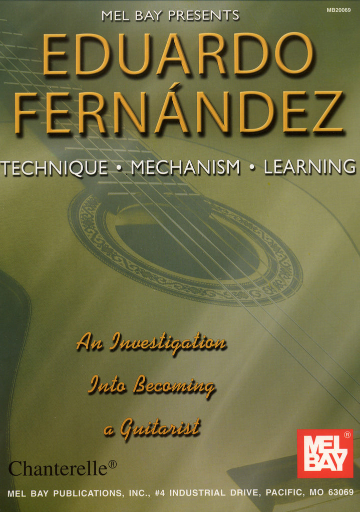 Image of Eduardo Fernandez, Technique Mechanism Learning, Music Book