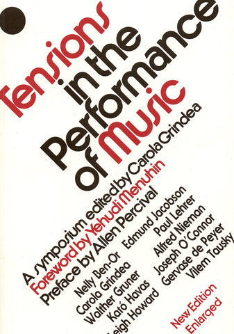 Image of Carola Grindea (ed.), Tensions in the Performance of Music: A Symposium, Book