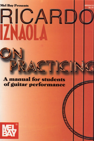 Image of Ricardo Iznaola, On Practising, Music Book