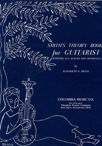 Image of Elizabeth Papas Smith, Smith's Theory Book for the Guitar, Music Book