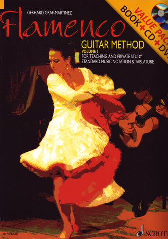 Image of Gerhard Graf-Martinez, Flamenco Guitar Method vol.1, Music Book & CD & DVD