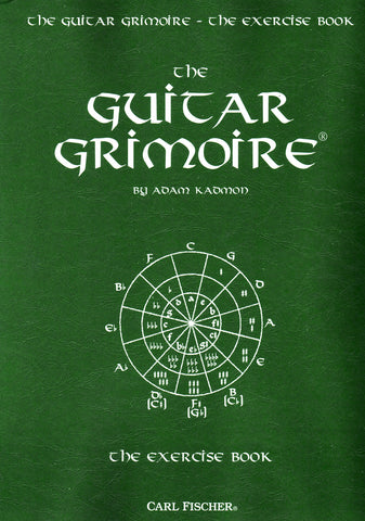 Image of Adam Kadmon, The Guitar Grimoire: The Exercise Book, Music Book