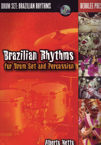 Image of Alberto Netto, Brazilian Rhythms for Percussion & Drumset, Music Book & CD
