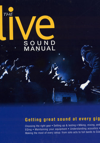 Image of Various Authors, The Live Sound Manual, Book