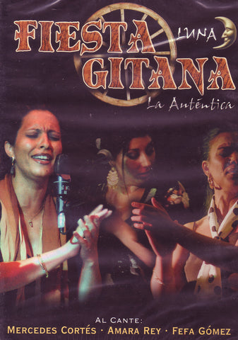 Image of Fiesta Gitana (Various Artists), Fiesta Gitana: Luna, DVD