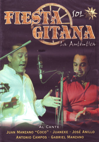 Image of Fiesta Gitana (Various Artists), Fiesta Gitana: Sol, DVD