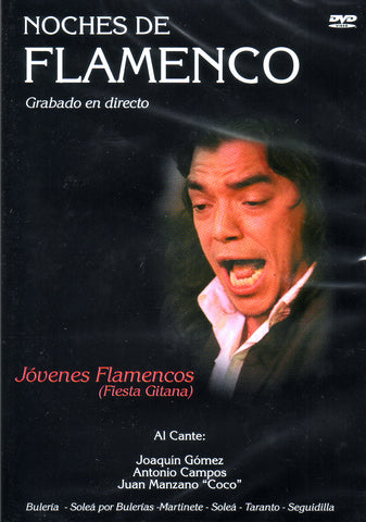 Image of Noches de Flamenco (Various Artists), Noches de Flamenco: Jovenes Flamencos (Fiesta Gitana), DVD