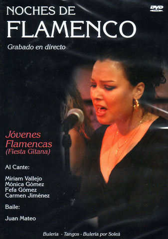 Image of Noches de Flamenco (Various Artists), Noches de Flamenco: Jovenes Flamencas (Fiesta Gitana), DVD