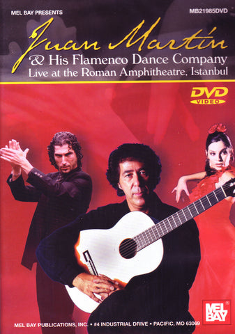 Image of Juan Martin & His Flamenco Dance Company, Live at the Roman Amphitheatre in Istanbul, DVD