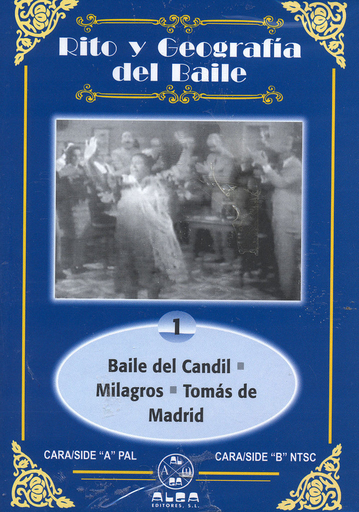 Image of RTVE (Various Artists), Rito y Geografia del Baile vol.09, DVD
