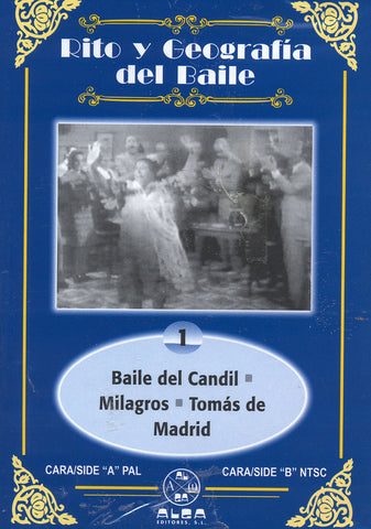 Image of RTVE (Various Artists), Rito y Geografia del Baile vol.04, DVD