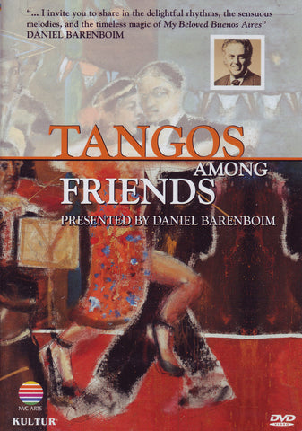 Image of Daniel Barenboim et al, Tangos Among Friends, DVD