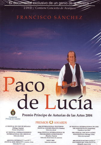 Image of Paco de Lucia, Francisco Sanchez, 2 DVD-PALs