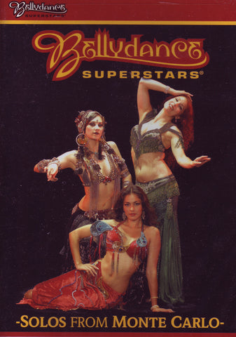 Image of Bellydance Superstars, Solos from Monte Carlo, DVD