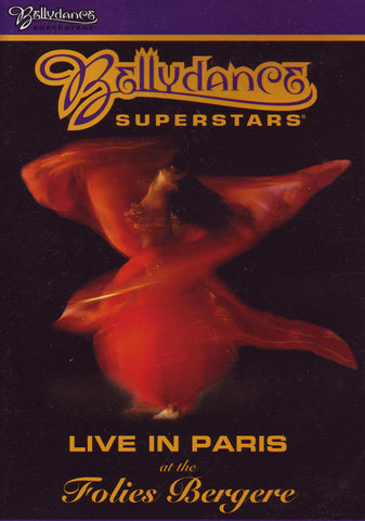 Image of Bellydance Superstars, Live in Paris at the Folies Bergere, DVD