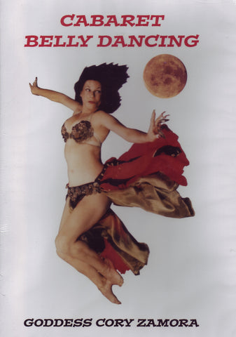 Image of Cory Zamora, Cabaret Belly Dancing, DVD