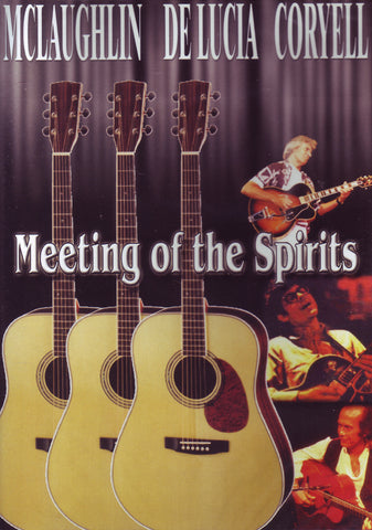 Image of Paco de Lucia, John McLaughlin, Larry Coryell, Meeting of the Spirits, DVD