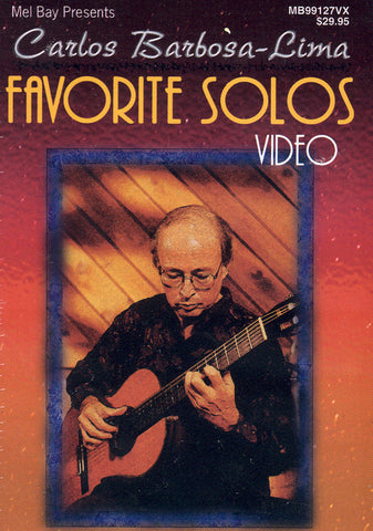 Image of Carlos Barbosa-Lima, Favorite Solos, DVD