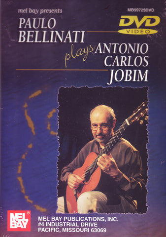 Image of Paulo Bellinati, Plays Antonio Carlos Jobim, DVD