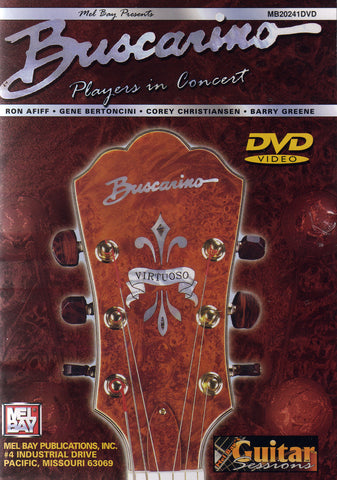 Image of The Buscarino Players, In Concert, DVD