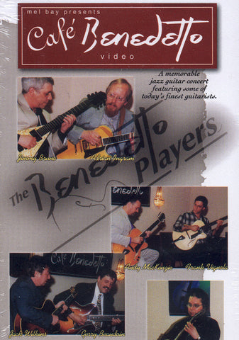 Image of The Benedetto Players, Café Benedetto, DVD