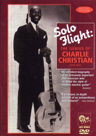 Image of Charlie Christian, Solo Flight: The Genius of Charlie Christian, DVD