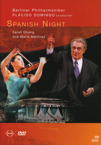 Image of Placido Domingo & Berlin Philharmoniker, Spanish Night, DVD